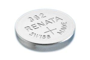 Renata 362 SR721SW Batterie (1,55 V, hergestellt in der Schweiz) silberfarben