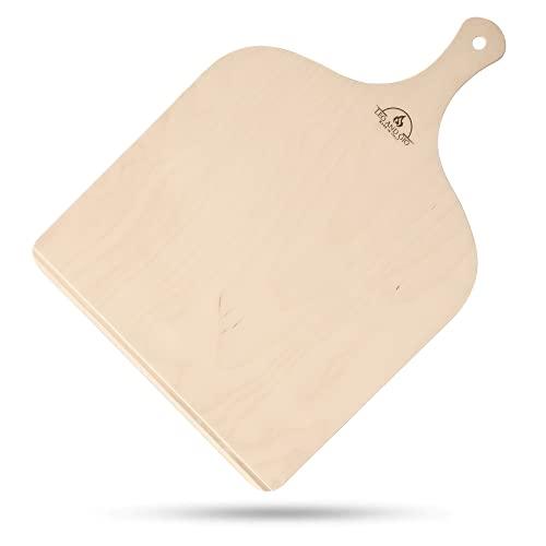 Pala para pizza y horno, accesorios de cocina, pala de madera para pizzas, pastelería, masas, pan, pinsa romana, tabla de cortar