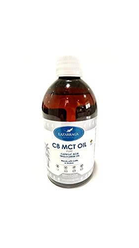 Lazarraga - Aceite MCT   C8 MCT Aceite Puro 100% de Coco...