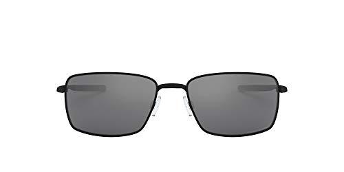 Oakley Square Wire OO4075 Occhiali da Sole, Nero (Negro Mate), 0 Uomo