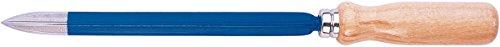 Rennsteig 462 250 0 Rascador triangular tipo C, Azul/Marrón