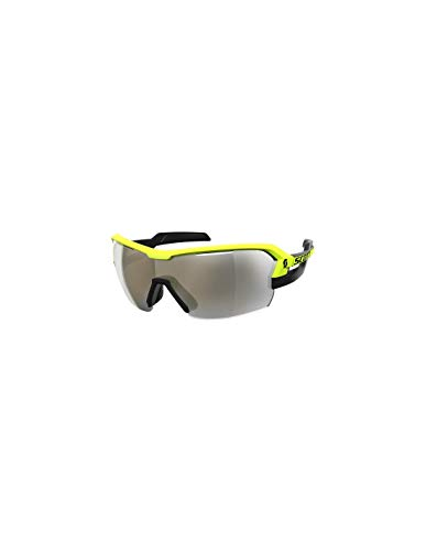 Scott Spur Fahrrad Wechselscheiben Brille schwarz/gelb/goldfarben Chrome Amplifier