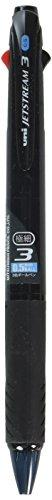 三菱鉛筆 3色ボールペン ジェットストリーム 0.5 SXE340005T.24 透明ブラック