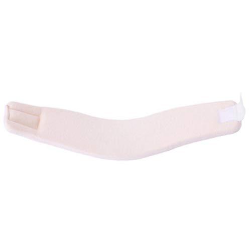 shentaotao Collar Cervical del Cuello Apoyo De La Ayuda Suave Espuma Blanca Ajustable para Aliviar El Dolor De Cuello (s, 44x9cm) Salud Y Belleza