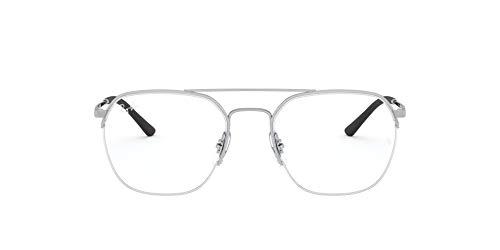 Ray-Ban RX6444 Gafas de lectura, Silver, 51 Unisex Adulto
