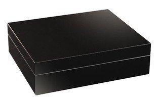 adorini Humidor Torino - Deluxe | hoch-präziser Haar-Hygrometer zur Lagerung von 30 Zigarren | Zigarren-Kiste zur Regulierung der Feuchtigkeit