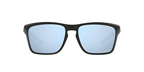 Oakley Oo9448 Sylas, Gafas Unisex Adulto, Matte Black/Prizm Deep Water Polarized