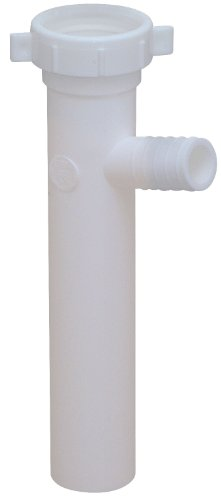 CSB International Products Eastman 35312 1-1/2' Branch Tailpiece S/J Connect White