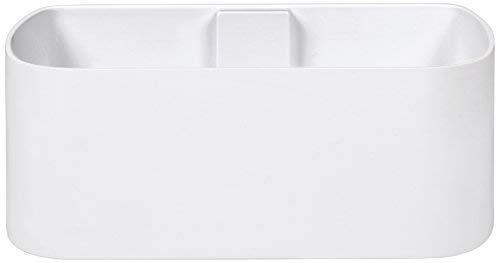 KalaMitica 64110-900-001 Récipient Magnétique, Résine Abs, Couleur Blanc, Dimension 22,5 cm