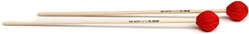 GearNuts Exclusive Vic Firth Corpsmaster Iain Moyer Signature Marimba Mallets (3-pack) Value Bundle