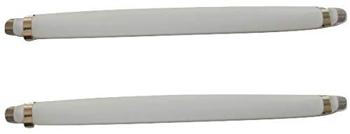 すきまケーブルS 20cm 2本セット 両端 F型接栓 フラットケーブル 忍者ケーブル 隙間ケーブル すき間ケーブル