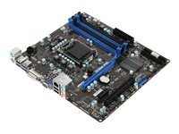 MSI B75MA-P45 - Placa base (procesador Intel B75, 32 GB RAM, Micro ATX, SATA, LAN, LGA 1155) (reacondicionado)