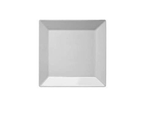 Assiette carrée en porcelaine SURNIA KIMI 21 cm