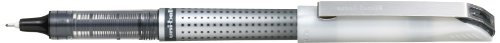 Uni-Ball UB-187S Eye Needle - Penna a sfera, punta media, tratto 0,7 mm, confezione da 12, colore: Nero