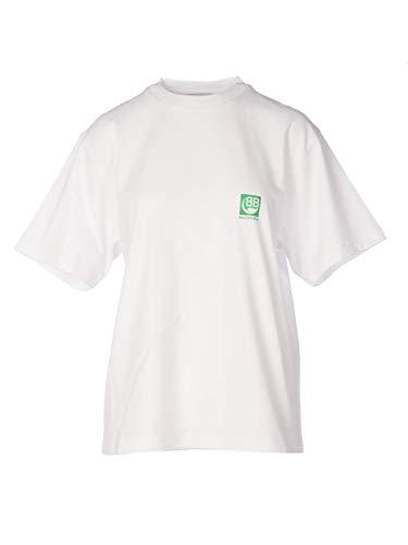 Luxury Fashion | Balenciaga Dames 594599THV639000 Wit Katoen T-shirts | Lente-zomer 20