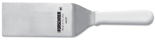 Victorinox Spatule à tête ronde avec poignée en polyester Blanc 7,6 x 15,2 cm