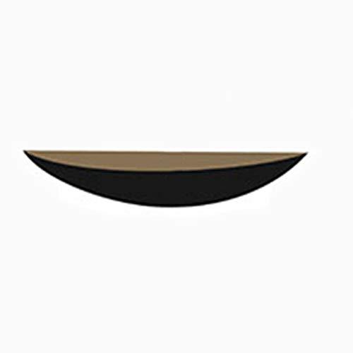 Creatieve wandplanken van massief hout, wandplank in plankvorm met rand Negozio decoratief display Strato