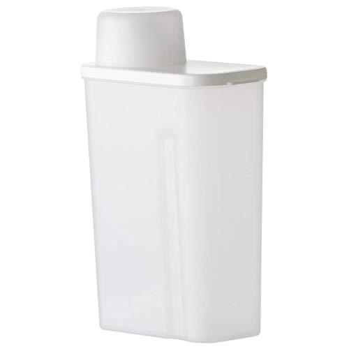 Unknow Contenitori per Cereali 2.3L, Ambientale di Plastica PP Sigillato Alimentari Contenitore di Immagazzinaggio, Grande capacità con Tazza di Misurazione, per Mantenere Il Cibo Secco