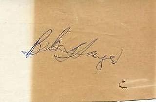 bob hayes signature