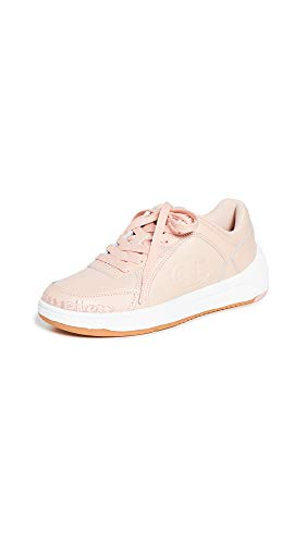 Champion Women's Super C Court Low Mono Sneakers, Spiced Almond, Pink, 6.5 Medium US