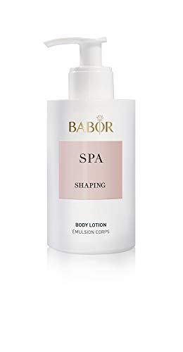 BABOR SPA Shaping Body Lotion, leichte Anti-Aging Body Lotion für jeden Tag, reduziert Cellulite, für straffere Haut, für mehr Spannkraft, 200ml