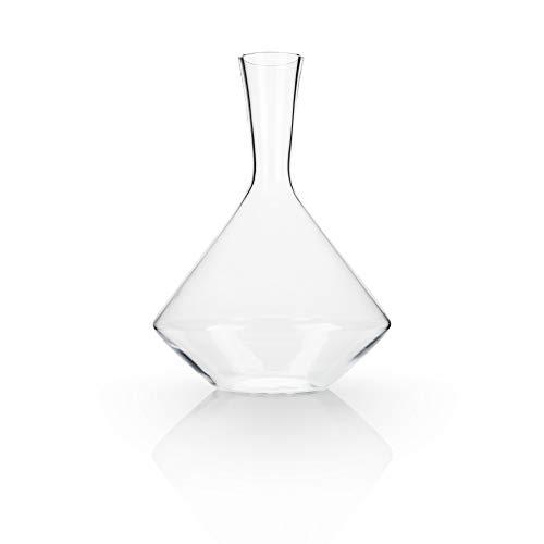 Viski Raye Angled Crystal Decanter