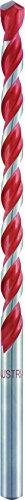 alpen 73001600100 Hartmetall-Mehrzweckbohrer Profi Multicut mit zylindrischem Schaft, lang, ∅ 16 mm, L1 400 mm, L2 300 mm