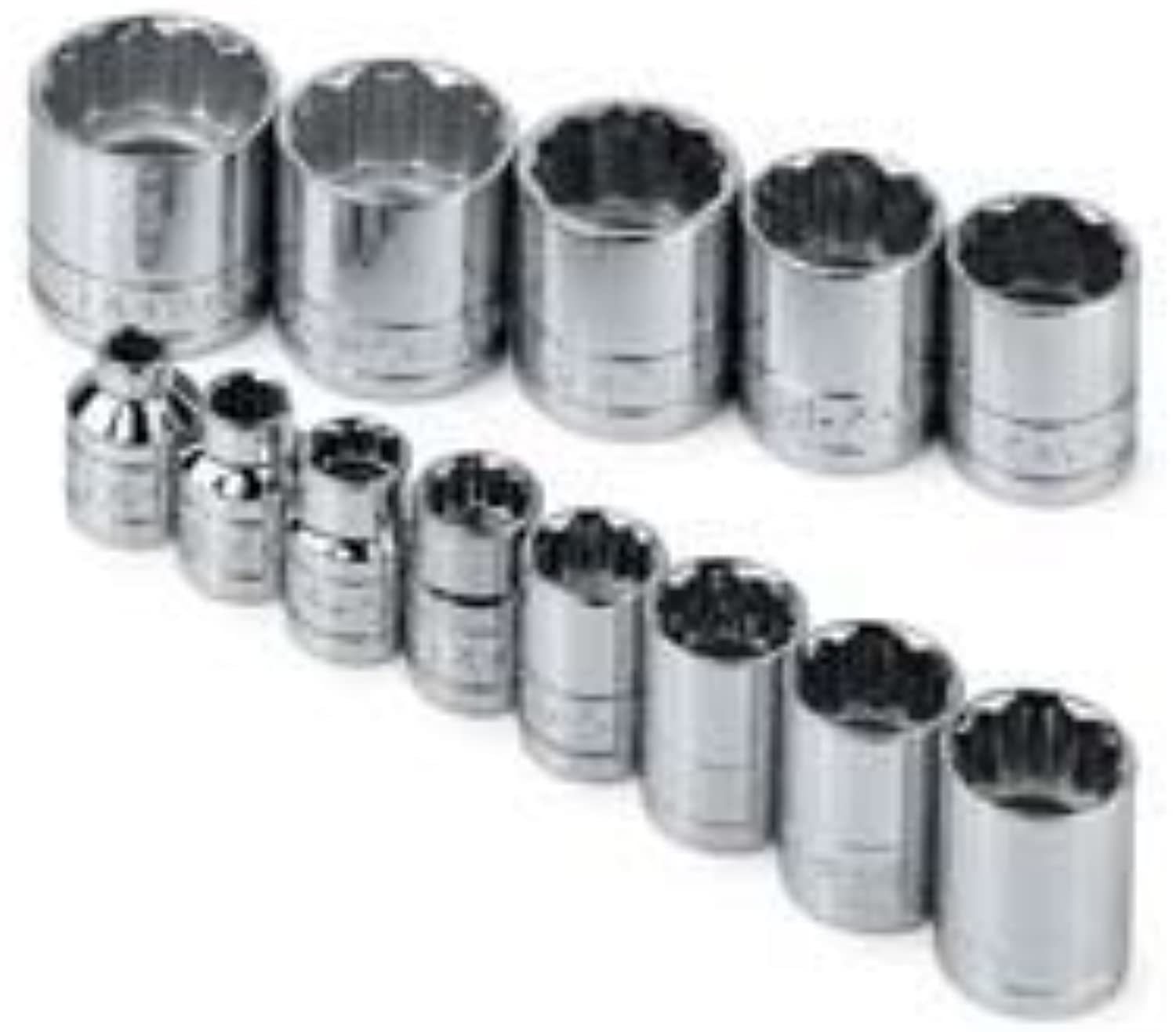 SK Hand Tools 4653 13-Piece 3 8-Inch Drive 12 Point Point Point Standard Fractional Socket Set by SK Hand Tools B0186MC4TS | Elegante und robuste Verpackung  c42d96