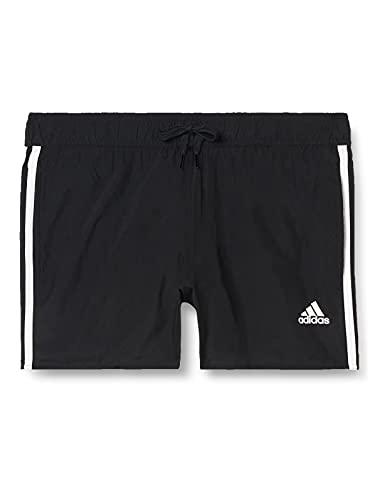 adidas Mens 3S CLX SH VSL Swim Trunks, Black, X-Large