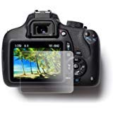 EasyCover by Bilora Protector de Pantalla para Canon 650d/700d/750d/760d/800d/T4i/T5i/t6i/T6S Negro