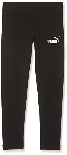 PUMA Mädchen ESS Leggings G Hose, Cotton Black, 116