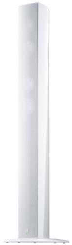 Canton CD 3500 2,5-Wege Bass-Reflex Stand-Lautsprecher (Kabellos, 200/300 Watt) weiß highgloss