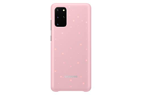 Samsung Galaxy S20+ Plus Case, Protective Smart LED Back Cover - Pink (US Version), Model:EF-KG985CPEGUS