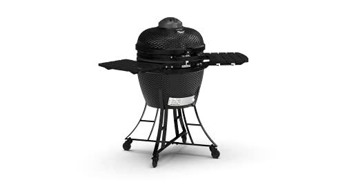 PIT BOSS 71240 Kamado BBQ Ceramic Grill Cooker, 24'