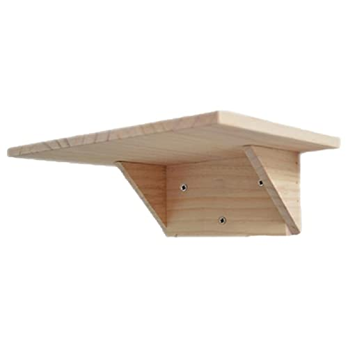 Incdnn Gattino tiragraffi in legno massiccio per gatti e gattini in legno naturale, diverse misure, regalo per animali domestici, aziende e stalla per gatti