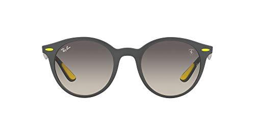 Ray-Ban 0RB4296M Gafas, Matte Grey, 50 Unisex Adulto