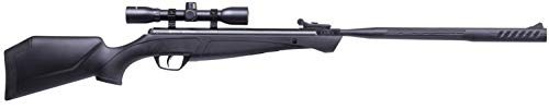 Crosman CS7SXS Shockwave .177 Break Barrel Air Rifle, Black, One Size