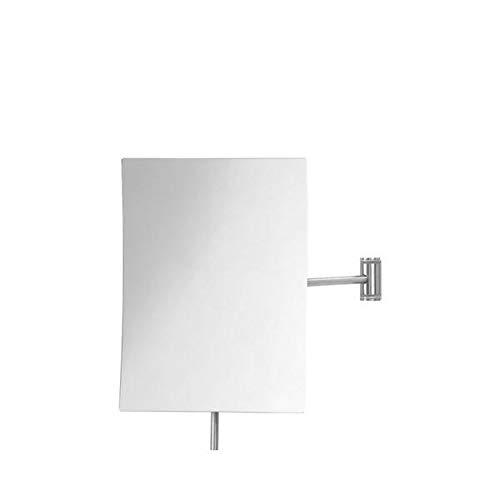 Blomus Vista Wandkosmetikspiegel, Stahl verchromt BxHxT 14x19x25,5cm 5-fache Vergrößerung, 69038, One Size