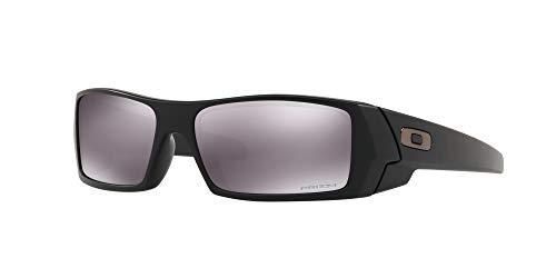 Oakley GASCAN OO9014 Sunglasses For Men + Accessories Bundle (Matte Black/Prizm Black (901443), 60)