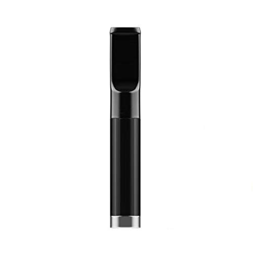 MKXULO Zigarettenfilter Zigarettenhalter Filter Zigarettenfilter Halter waschbar gesunde Pfeife,Schwarz