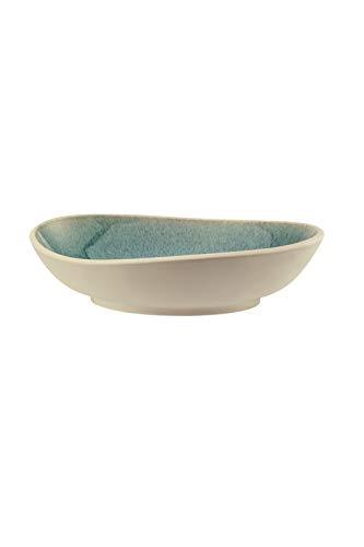 Rosenthal - Junto - Aquamarine - Teller tief - Suppenteller - Steinzeug - Ø 22 cm