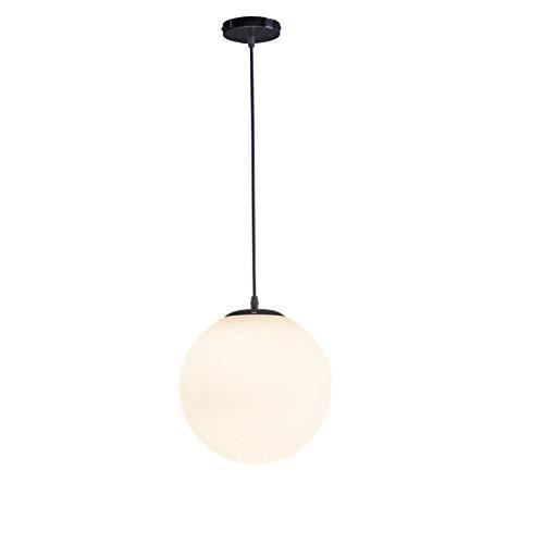 Eenvoudig ontwerp glas lampenkap hanglamp bollen bal lamp naast woonkamer LOFT, Dineren kamer, 7.09