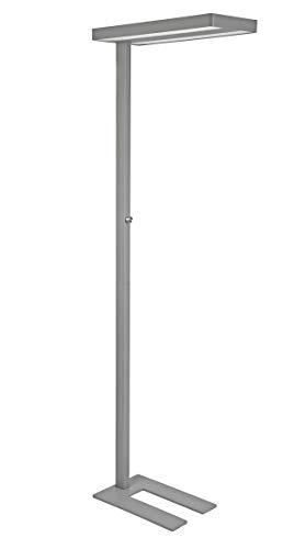 LED Standleuchte - MAULjaval, Dimmbar, 7100 Lumen, Aluminium, Silber, 8258495