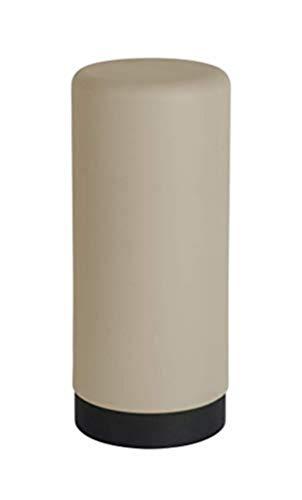 WENKO Dispenser detersivo piatti Easy Squeeze taupe - Dispenser sapone Capacità: 0.25 l, Silicone, 6 x 14 x 6 cm, Tortora