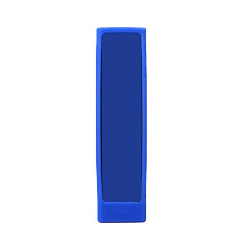 FeiyanfyQ Funda De Control Remoto Cubierta Protectora De Control Remoto por Voz Resistente A La Suciedad Anticaída Flexible Azul