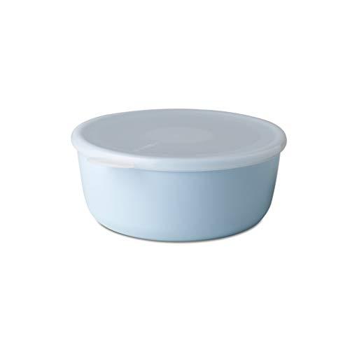 Mepal Schale mit Deckel volumia 1 L, Plastik, Retro Blau, 19 x 17.2 x 7.2 cm