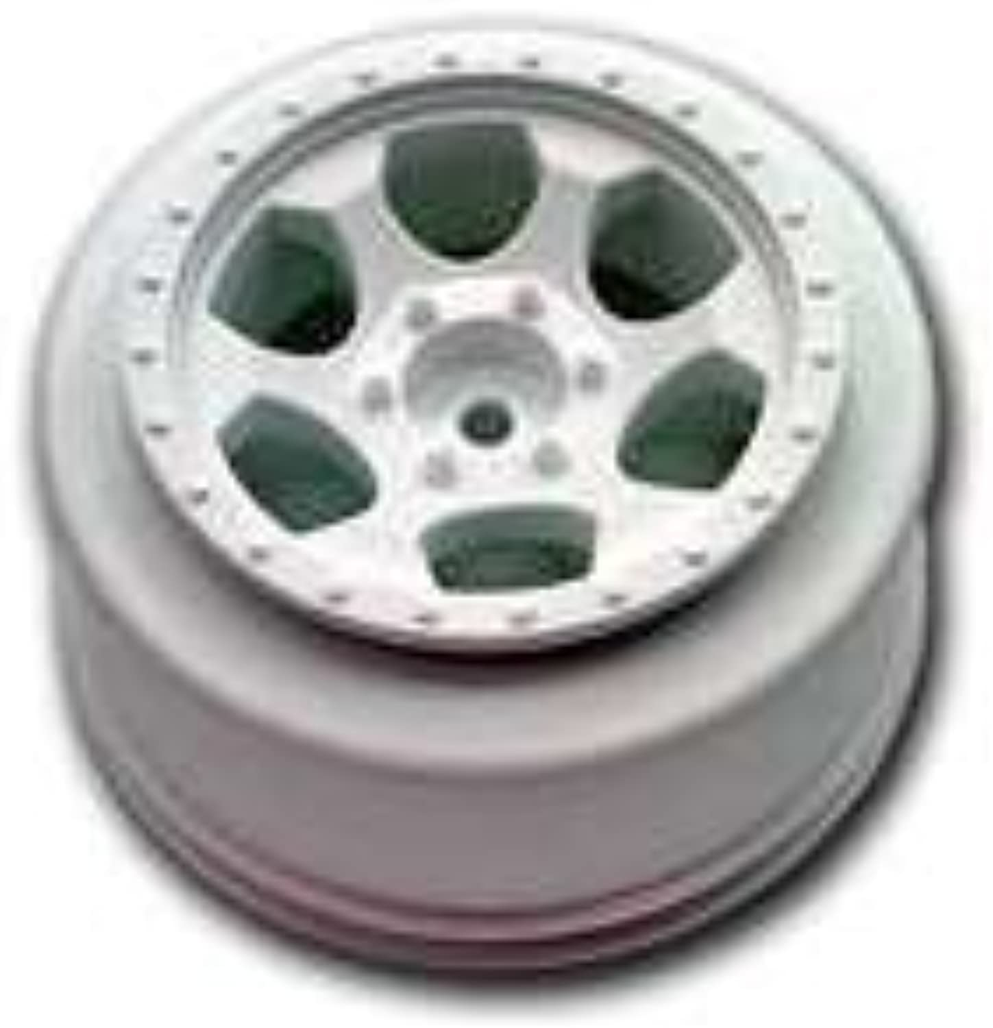 DE Racing SCTFW Trinidad Sc Wheels Fits Slash Front   White by DE Racing