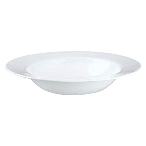 Corelle Impressions 28oz/828mL Wide Rim Entree Bowl 4 pack Winter FrostWhite 1116226