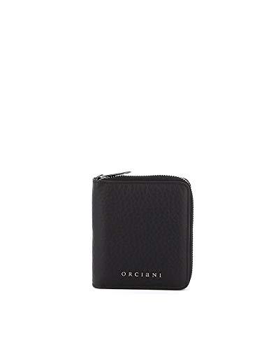 Orciani Luxury Fashion Damen SD0130SOFTBLACK Schwarz Leder Brieftaschen | Herbst Winter 19