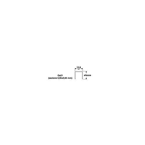 PUNTI PER PUNTATRICE VALEX 8016 - 12.8X10 MM - CONFEZIONE DA 1000 PZ